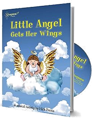 Little Angel Gets Her Wings - By Nick Perrin Cover