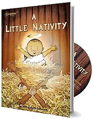 A Little Nativity - By John and Ruth Kenward Cover
