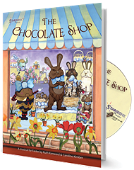 Chocolate Shop, The - By Ruth Kenward and Caroline Kimber Cover