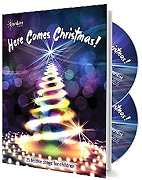 Here Comes Christmas - 25 Festive Songs for Children Cover