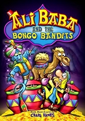 Ali Baba And The Bongo Bandits - By Craig Hawes Cover