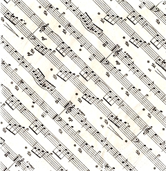 20 Pack of Sheet Music Design 33cm Paper Napkins Cover