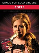 Songs For Solo Singers - Adele (PVG/CD) Cover