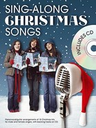 Sing-Along Christmas Songs (Book and CD) - Arranged for Piano, Voice and Guitar