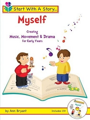 Start With A Story: Myself (Book and CD) - By Ann Bryant Cover
