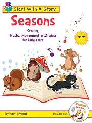 Start With A Story: Seasons (Book and CD) - By Ann Bryant