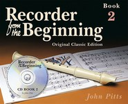 Recorder From The Beginning - Book 2 (Book/CD) - Classic Edition. Soprano (Descant) Recorder Sheet Music, CD
