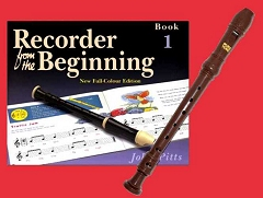 School Descant/Soprano Recorder with Beginning Tutor Book 1