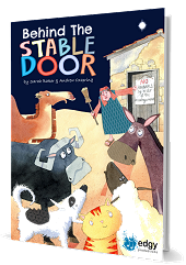 Behind The Stable Door - By Sarah Baker and Andrew Oxspring Cover
