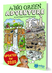 A Big Green Adventure (An Environmental Musical) - By Colin Magee and Andrew Oxspring Cover