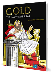 Gold: The Tale of King Midas - By Janet Grierson Cover