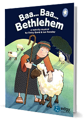 Baa Baa Bethlehem - By Daisy Bond and Ian Faraday Cover