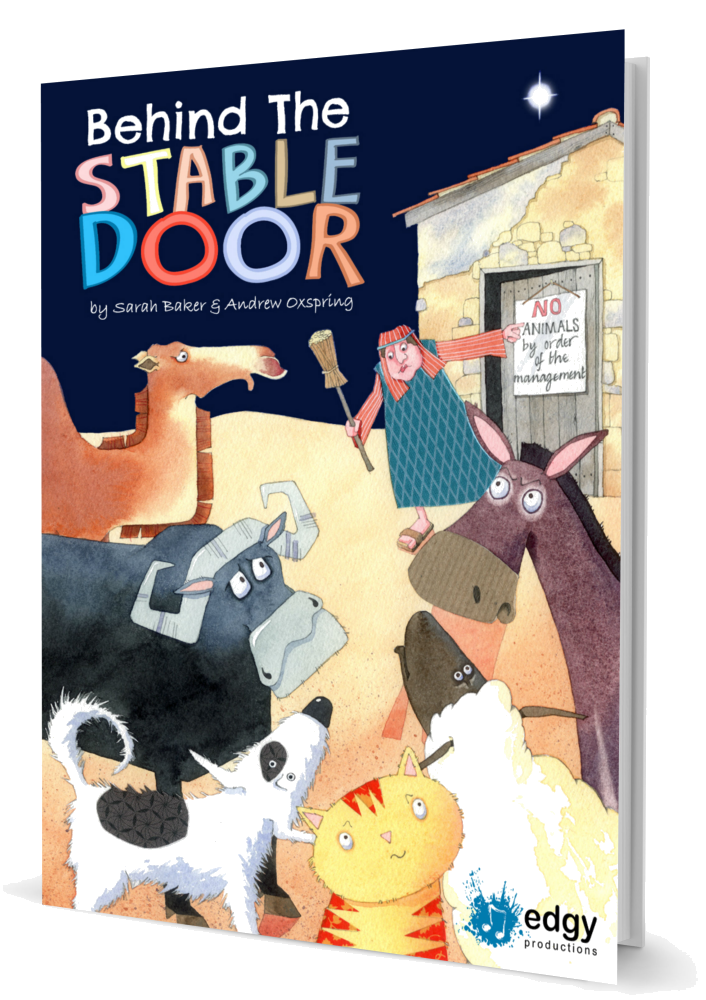 Behind The Stable Door By Sarah Baker And Andrew Oxspring Nativity