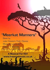 Meerkat Manners - By Julia E K Thomas Cover