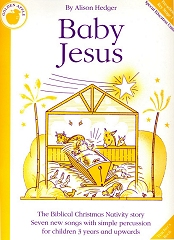 Baby Jesus - By Alison Hedger Cover