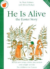He Is Alive - By Alison Hedger Cover