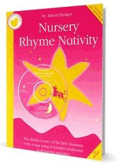 Nursery Rhyme Nativity - Alison Hedger Cover