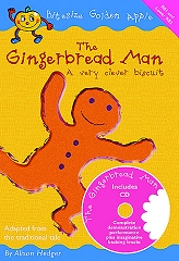 Gingerbread Man, The (A Very Clever Biscuit): Bitesize Golden Apple - Alison Hedger Cover