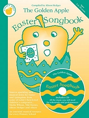The Golden Apple Easter Songbook (Easter and Springtime Songs) - Compiled by Alison Hedger Cover