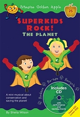 Superkids Rock! The Planet, Bitesize Golden Apple - Sheila Wilson Cover