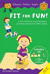 Fit For Fun!, Bitesize Golden Apple - Douglas Wootton Cover