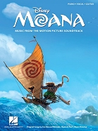 Moana: Music From The Motion Picture Soundtrack - Piano/Vocal/Guitar (PVG)