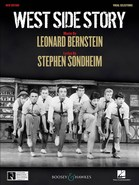 West Side Story - Vocal Selections Cover