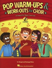 Pop Warm-Ups And Work-Outs For Choir - By Roger Emerson Cover