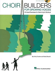 Choir Builders For Growing Voices - 18 Vocal Exercises For Warm-up and Workout Cover