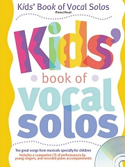 Kids' Book Of Vocal Solos - Book and CD