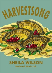 Harvestsong - By Sheila Wilson Cover