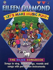 Let's Make Music Fun! - The Blue Songbook (Book/CD)