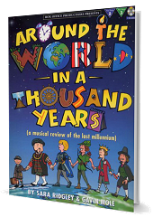 Around The World In A Thousand Years - By Sara Ridgley and Gavin Mole Cover