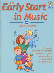 An Early Start In Music - Eileen Diamond Cover