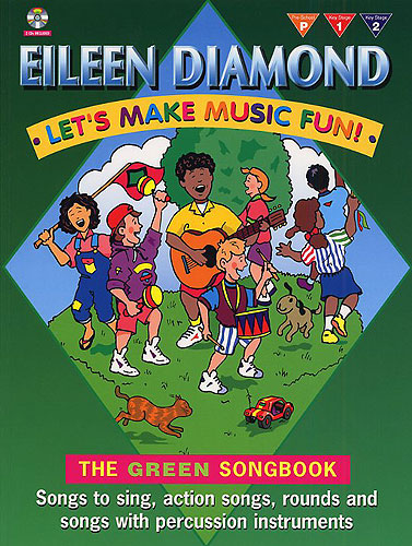 LET'S MAKE MUSIC FUN! THE GREEN SONGBOOK (BOOK/CD)   All Year Round Songbooks   IMP10077A