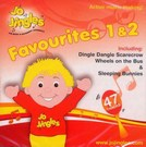 Jo Jingles Favourites 1 And 2 - Singalong CD Cover