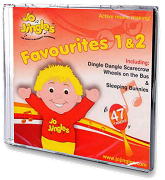 Jo Jingles Favourites 1 And 2 - Singalong CD