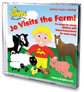 Jo Jingles: Jo Visits the Farm - Singalong CD