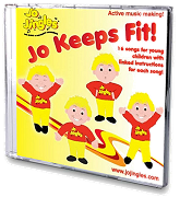 Jo Jingles: Jo Keeps Fit! - Singalong CD