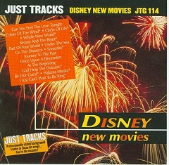 Pocket Songs Backing Tracks CD - New Movies, Disney