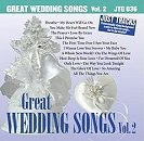 Pocket Songs Backing Tracks CD - Wedding Songs, Great, Volume 2 Cover