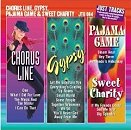Pocket Songs Backing Tracks CD - Gypsy, Chorus Line, Sweet Charity, Pajama Game