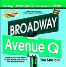 Pocket Songs Backing Tracks CD - Avenue Q, The Musical Cover