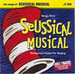 POCKET SONGS BACKING TRACKS CD SEUSSICAL MUSICAL   Backing