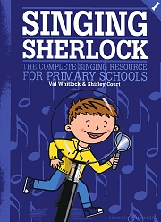 Singing Sherlock - Book 1 - Val Whitlock and Shirley Court Cover