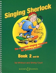 Singing Sherlock - Book 2 - Val Whitlock and Shirley Court Cover
