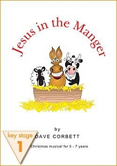 Jesus In The Manger - By Dave Corbett