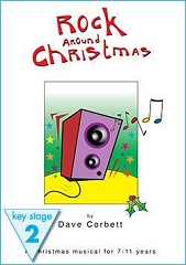 Rock Around Christmas - By Dave Corbett Cover