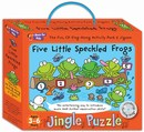 Music For Kids: Jingle Puzzle - Five Little Speckled Frogs (Jigsaw Game/CD)