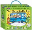 Music For Kids: Jingle Puzzle - The Wheels On The Bus (Jigsaw Game/CD)